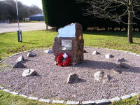 Lasham Airfield Airport, Basingstoke, England United Kingdom (EGHL) - memorial at Lasham - by Chris Hall