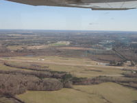 Tarboro-edgecombe Airport (ETC) - maneuvering for the left downwind for runway 9 - by Michael McCracken