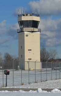 Cuyahoga County Airport (CGF) - The Air Traffic Control Tower at KCGF, a public airport located in Cleveland, Ohio. It is also known as the Robert D Shea Field. - by aeroplanepics0112