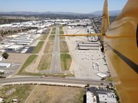 Fullerton Municipal Airport (FUL) - Departure off RWY 24 - by Nick Taylor Photography