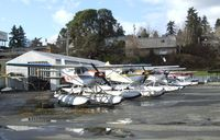 Kenmore Air Harbor Inc Seaplane Base (S60) - lots of floatplanes at Kenmore Air Harbor - by Ingo Warnecke