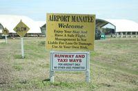 Airport Manatee Airport (48X) - Airport Manatee - by Florida Metal
