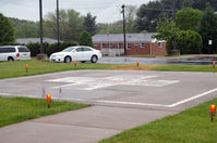 Culpeper Memorial Hospital Heliport (VA29) - Hospital helo pad - by Ronald Barker
