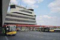 Tegel International Airport (closing in 2011), Berlin Germany (EDDT) - Main building of Berlin-Tegel International Airport. - by Holger Zengler