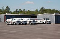 Hernando County Airport (BKV) - American Aviation Fuel Trucks at Hernando County Airport, Brooksville, FL  - by scotch-canadian