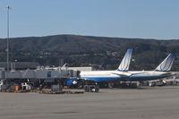 San Francisco International Airport (SFO) - San Francisco International Airport/KSFO United Airlines gates 84 and 86. - by Mark Kalfas