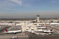 Los Angeles International Airport (LAX) - Delta Terminal 5 at KLAX. - by Mark Kalfas