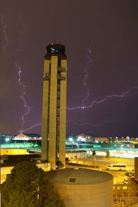 San Antonio International Airport (SAT) - Storm coming through San Antonio. - by RWB
