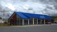 Mountain Empire Airport (MKJ) - New terminal at Mountain Empire Airport - by Jon Raines