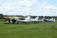 Derby Airfield Airport, Derby, England United Kingdom (EGBD) - Derby Airfield - by Chris Hall