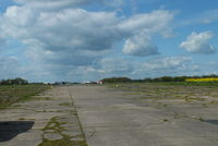Tatenhill Airfield - disused runway at Tatenhill - by Chris Hall