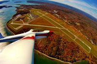 Hancock County-bar Harbor Airport (BHB) - From the air - by Jeff Reynolds