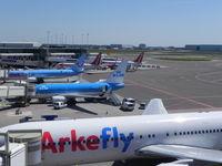 Amsterdam Schiphol Airport, Haarlemmermeer, near Amsterdam Netherlands (EHAM) - Schiphol Airport - by Henk Geerlings