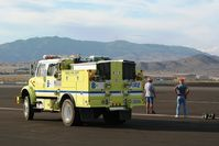Reno/stead Airport (RTS) - Responding to a mayday call Reno 2011 - by Nick Taylor