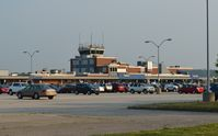Erie Intl/tom Ridge Field Airport (ERI) - The Terminal and Air Traffic Control Tower at Erie International Airport / Tom Ridge Field in Erie, Pennsylvania.  - by aeroplanepics0112