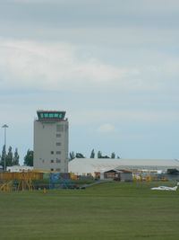 Cambridge Airport - The airport's control tower. - by FinlayCox143