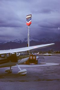 Whiteman Airport (WHP) - Cessna 140 N2162N sits at the fueling station - by Roland Penttila