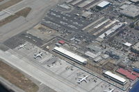 Long Beach /daugherty Field/ Airport (LGB) - The new terminal being built - by Nick Taylor