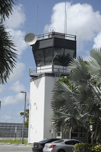 Fort Lauderdale Executive Airport (FXE) - The Air Traffic Control Tower at Ft. Lauderdale Executive Airport - by Bruce H. Solov
