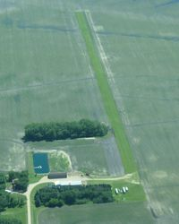 Traverse Air Airport (61MN) - A view of Traverse Air Airport-10 miles north of Wheaton, MN-from 3000'. - by Kreg Anderson
