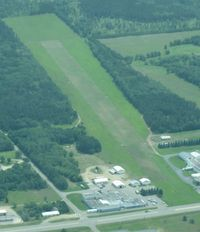 Morey's Airport (22Y) - A shot of Morey's Airport in Motley, MN from 3500'. - by Kreg Anderson