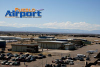 Pueblo Memorial Airport (PUB) - KPUB from the control tower - by Jeff Miller