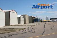 Pueblo Memorial Airport (PUB) - Hanger space at Pueblo Airport - by Jeff Miller