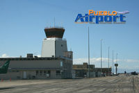 Pueblo Memorial Airport (PUB) - On the tarmac at KPUB - by Jeff Miller