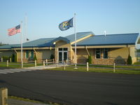 Harbor Springs Airport (MGN) - New Terminal bldg - by Geoffrey