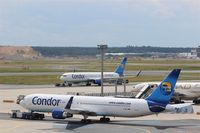 Frankfurt International Airport, Frankfurt am Main Germany (EDDF) - Attendees of all wednesdays pulling competition (sponsored by Condor) are on the way to starting line..... - by Holger Zengler