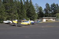 Lopez Island Airport (S31) - The taxiways and ramp are being resurfaced. Very nice! - by Duncan Kirk