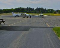 Beaver County Airport (BVI) - Flight school planes at BVI - by Murat Tanyel