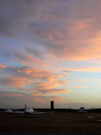 Arlington Municipal Airport (GKY) - Sunset in Arlington, TX - by Zane Adams