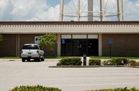 Patrick Afb Airport (COF) - United States Post Office at Patrick Air Force Base, FL - by scotch-canadian