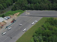 Mattituck Airport (21N) - Detail of North end of runway. - by Stephen Amiaga
