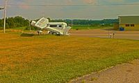 Tri-city Airport (3G6) - Entrance to the airport - by Murat Tanyel