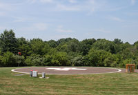 Doylestown Heliport (9PS3) - This is the helipad that serves the emergency services for Doylestown Hospital. - by Daniel L. Berek