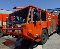 RNAS Culdrose Airport, Helston, England United Kingdom (EGDR) - Secondary fire fighting appliance. - by Derek Flewin