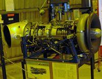 RNAS Culdrose Airport, Helston, England United Kingdom (EGDR) - Gnome Turboshaft, used to power the Sea king. - by Derek Flewin