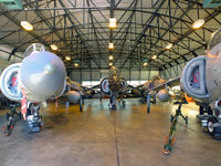 RNAS Culdrose Airport, Helston, England United Kingdom (EGDR) - Five Harriers at RNAS Culdrose, School of Flight Deck Operations. - by Derek Flewin