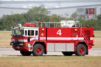 Fort Worth Nas Jrb/carswell Field Airport (NFW) - NAS Fort Worth fire truck #4 - by Zane Adams