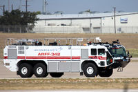 Fort Worth Nas Jrb/carswell Field Airport (NFW) - Lockheed Martin fire truck at NAS JRB Fort Worth - by Zane Adams
