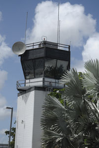 Fort Lauderdale Executive Airport (FXE) - The ATC tower at FXE - by Bruce H. Solov