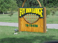 Olcott-newfane Airport (D80) - New sign at the airport. - by Terry L Swann
