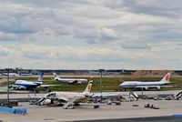 Frankfurt International Airport, Frankfurt am Main Germany (EDDF) - Lining up for rwy 25C.... - by Holger Zengler