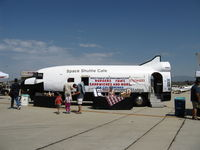 Camarillo Airport (CMA) - 2012 Wings Over Camarillo Airshow-Space Shuttle Cafe-one of many eating opportunities at the airshow, but this one's unique! - by Doug Robertson