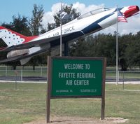 Fayette Regional Air Center Airport (3T5) - Fayette Regional air center airport, La Grange Tx. entrance - by dennisheal