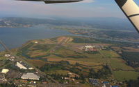 Astoria Regional Airport (AST) - Astoria Airport as seen from a C150. - by A.Shearer