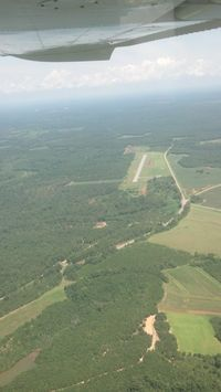 Abbeville Municipal Airport (0J0) - A shot from N3984J from south of the airport - by dms65aaf