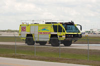 Southwest Florida International Airport (RSW) - ARFF Panther with RSW fire rescue - by Mauricio Morro